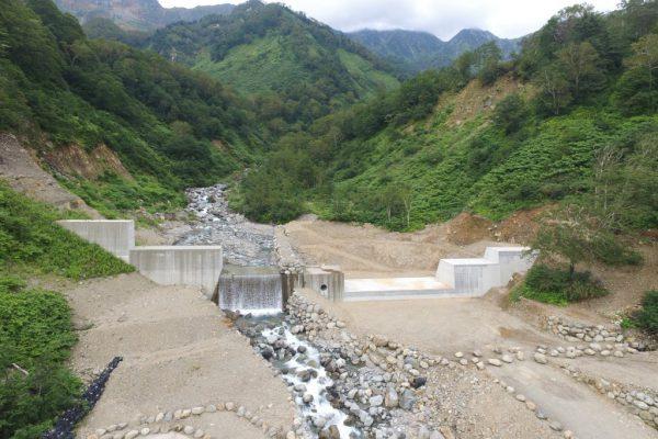 H30 新湯第2号砂防堰堤工事