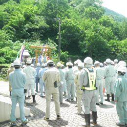 7月10日 安全祈願祭を行いました。