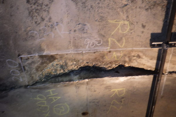 有峰トンネルの補修 No.2