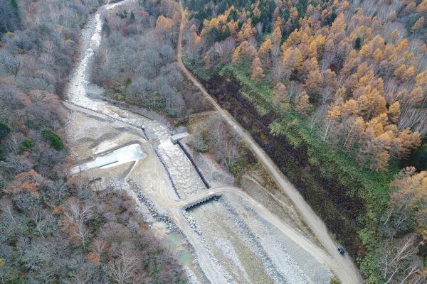 R1 真川上流第1号砂防堰堤工事