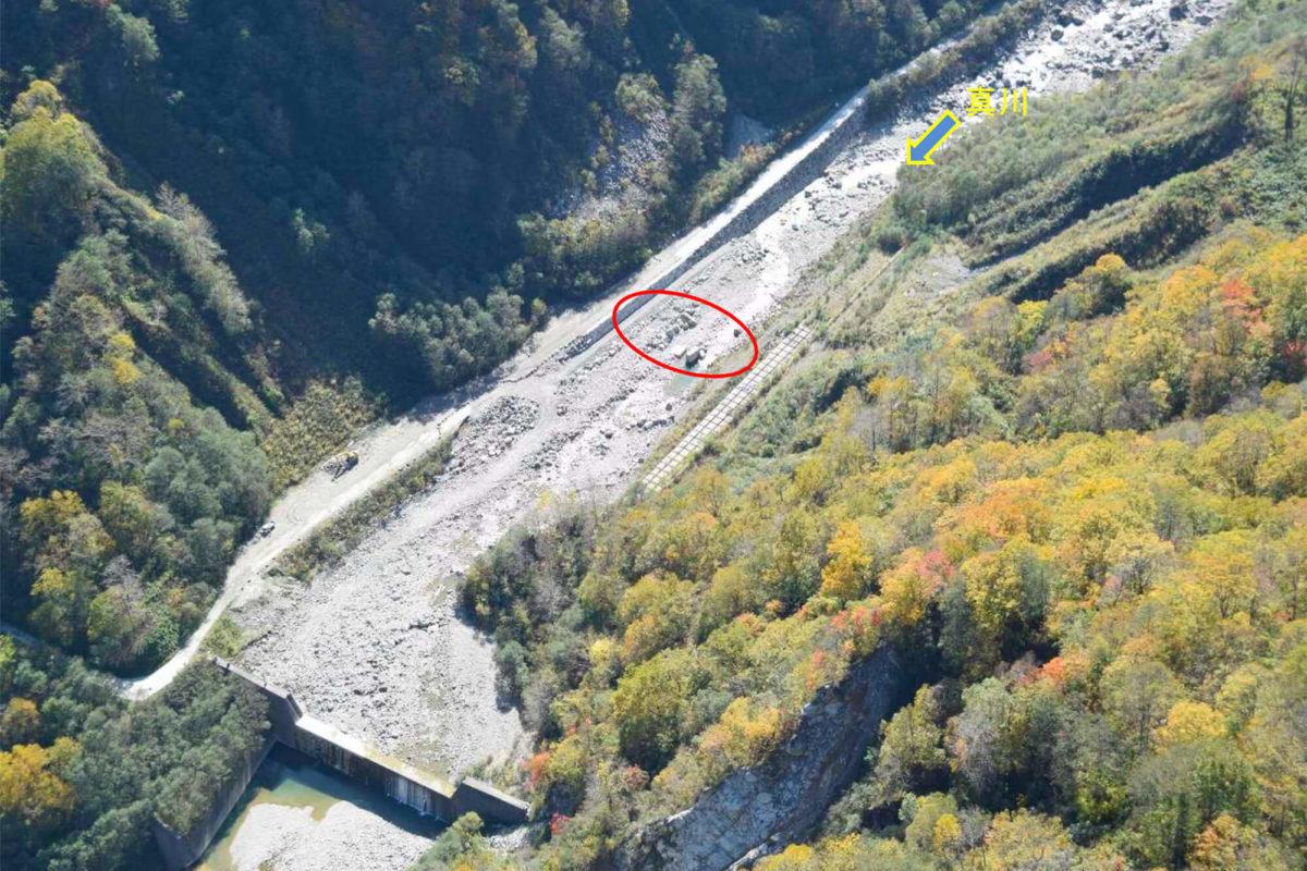 R1 真川・ホトロ谷合流点処理工事写真