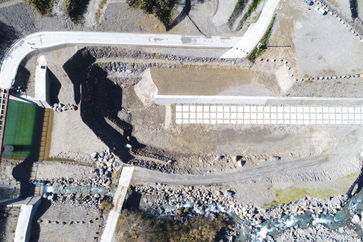 R2 有峰地区渓岸対策(多枝原谷)工事写真