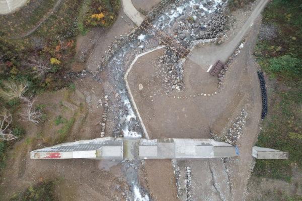 R2 新湯第2号砂防堰堤工事写真