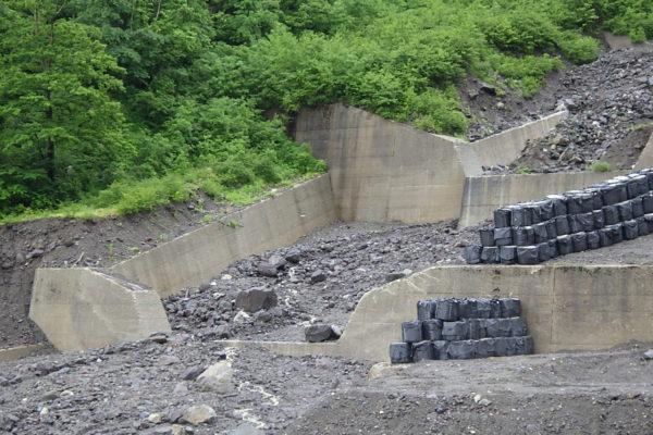 土石流対策(6月11日)