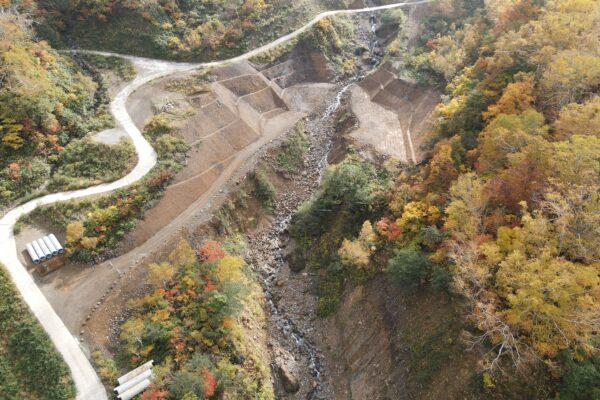 R3 滝谷第2号砂防堰堤工事