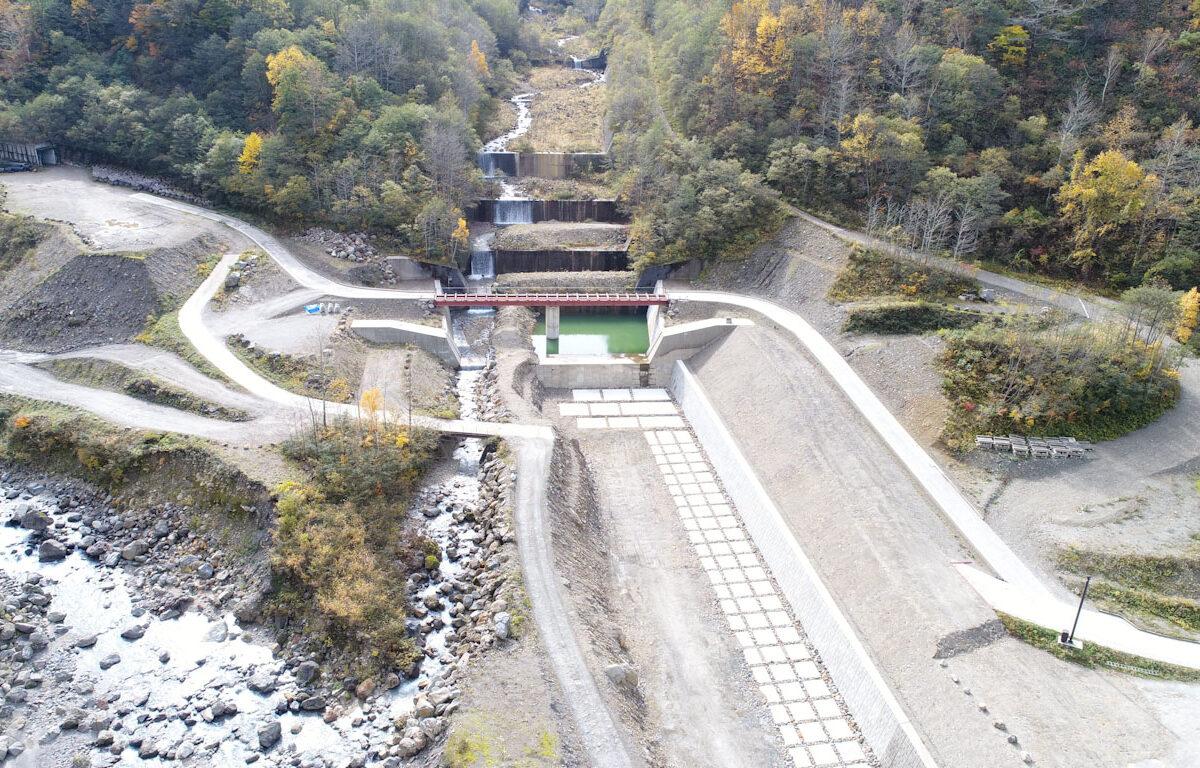 R3 有峰地区渓岸対策(多枝原谷)工事写真